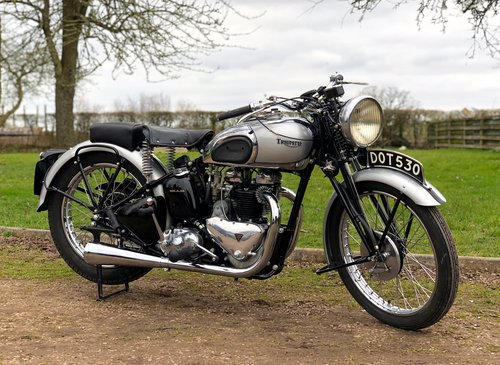 Pre-War Triumph Tiger 100 1939  500cc SOLD (picture 1 of 6)