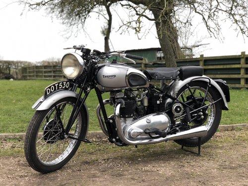 Pre-War Triumph Tiger 100 1939  500cc SOLD (picture 2 of 6)