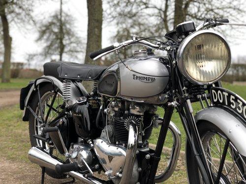 Pre-War Triumph Tiger 100 1939  500cc SOLD (picture 3 of 6)