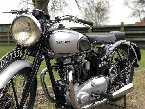 Pre-War Triumph Tiger 100 1939  500cc SOLD (picture 4 of 6)