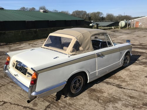 1969 Triumph Vitesse Convertible Mk2 .. SOLD (picture 2 of 6)