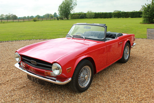 1971 TRIUMPH TR6 - BEST AVAILABLE For Sale (picture 3 of 12)