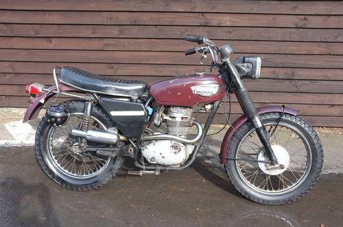 Triumph Tr25w 250 Trophy 1968 Triumphs Answer To The Starfir Sold