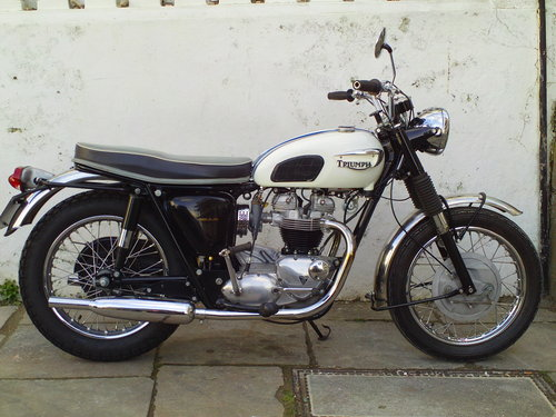 1966 TRIUMPH TROPHY TR6SS SOLD (picture 1 of 6)