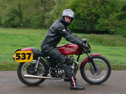 1975 Racing Tricati, (road registered, with V5) SOLD (picture 1 of 6)
