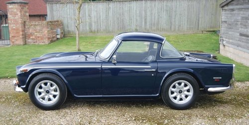 1968 Triumph TR5, UK Car, Body off resto, Fast-road Spec, History For Sale (picture 3 of 6)