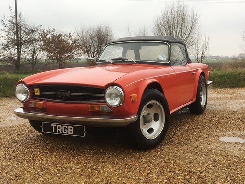 JUST ARRIVED! - TR6 1972 150BHP WITH OVERDRIVE SOLD (picture 1 of 6)