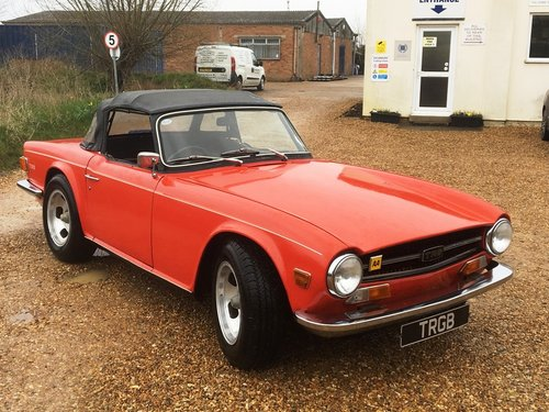 JUST ARRIVED! - TR6 1972 150BHP WITH OVERDRIVE SOLD (picture 4 of 6)