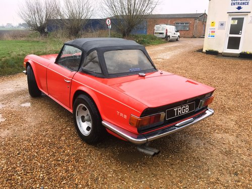JUST ARRIVED! - TR6 1972 150BHP WITH OVERDRIVE SOLD (picture 5 of 6)