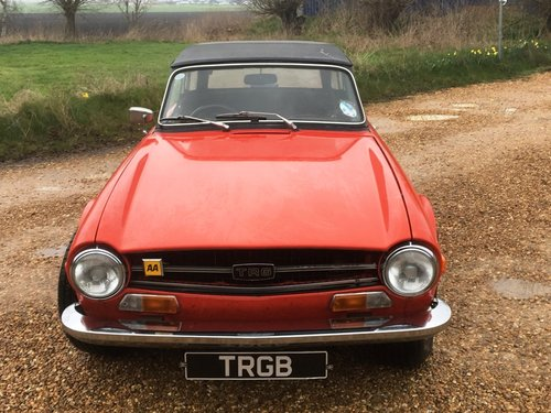 JUST ARRIVED! - TR6 1972 150BHP WITH OVERDRIVE SOLD (picture 6 of 6)