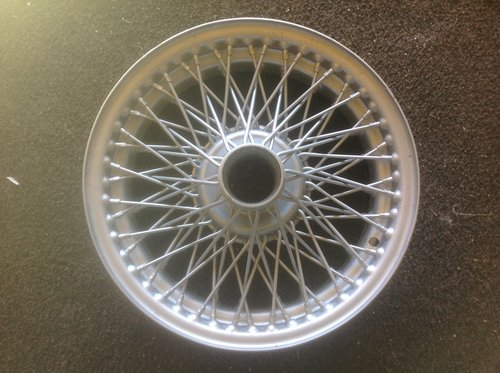 1960  MGC / TR 3/4/5. 15'' wire wheel 72spoke. [ 5 J ] For Sale (picture 1 of 2)