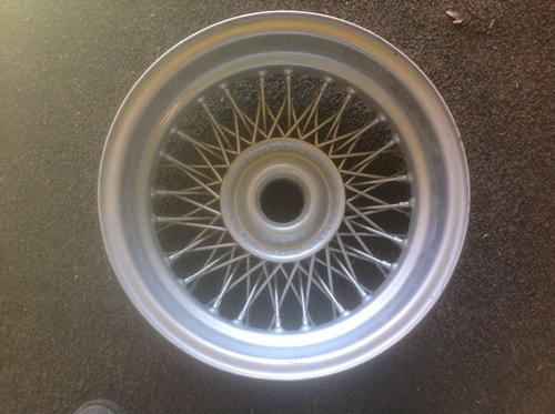 1960  MGC / TR 3/4/5. 15'' wire wheel 72spoke. [ 5 J ] For Sale (picture 2 of 2)