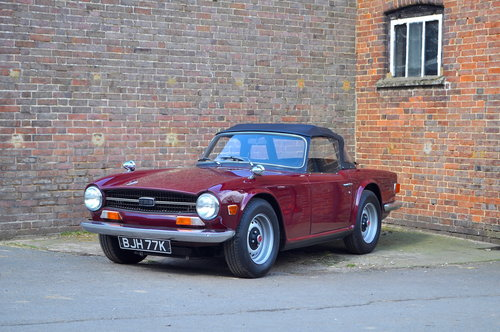 Triumph Tr6 1971 Uk Rhd Now Sold For Sale Car And Classic