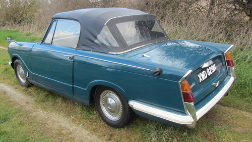 1970 Triumph Herald 13/60 Convertible For Sale  SOLD (picture 4 of 6)