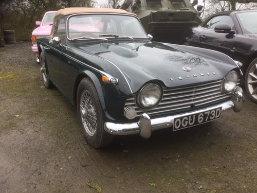 1966 Triumph Tr4 For Sale Car And Classic