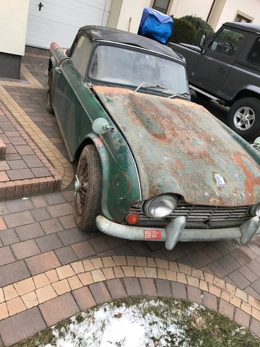 1965 65 TR4 for restoration SOLD | Car And Classic