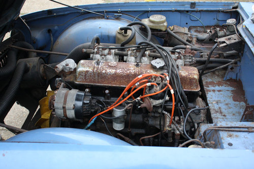 TR6 1969 ORIGINAL 150 BHP EARLY CAR WITH OVERDRIVE SOLD (picture 2 of 6)