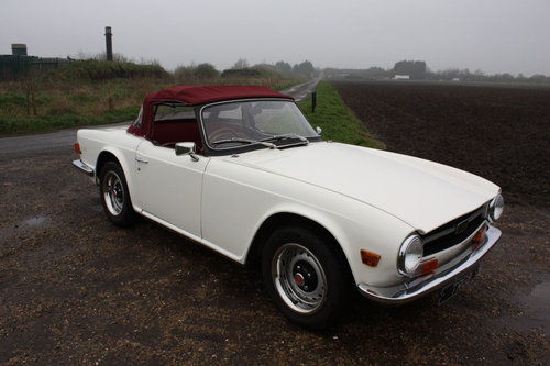 TR6 1972 150BHP CAR WITH OVERDRIVE SOLD (picture 5 of 6)