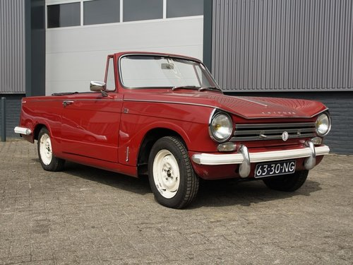 1970 Triumph Herald 13/30 Convertible For Sale (picture 1 of 6)