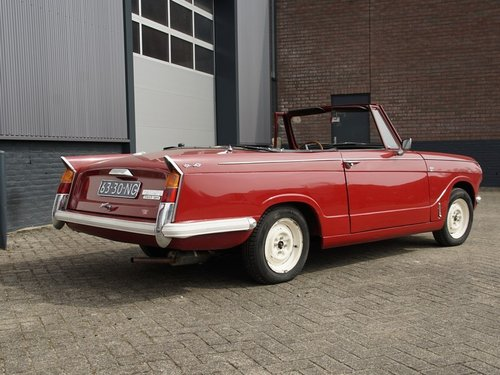 1970 Triumph Herald 13/30 Convertible For Sale (picture 2 of 6)