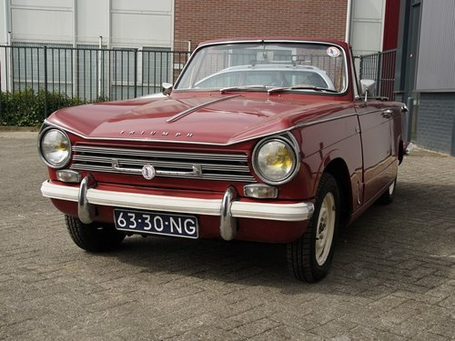 1970 Triumph Herald 13/30 Convertible For Sale (picture 5 of 6)