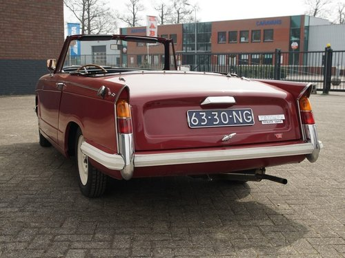 1970 Triumph Herald 13/30 Convertible For Sale (picture 6 of 6)