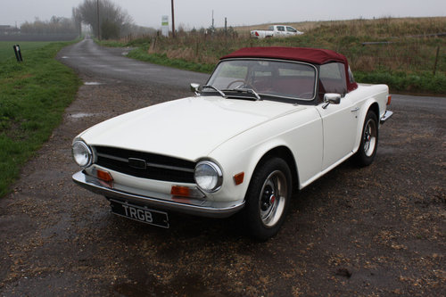 TR6 1972 150BHP CAR WITH OVERDRIVE SOLD (picture 1 of 6)