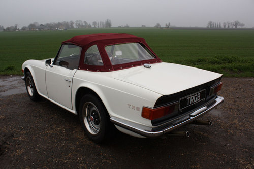 TR6 1972 150BHP CAR WITH OVERDRIVE SOLD (picture 6 of 6)