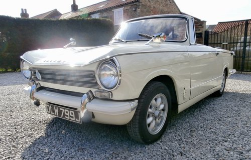 1971 Triumph Herald 13/60 Convertible SOLD (picture 4 of 6)