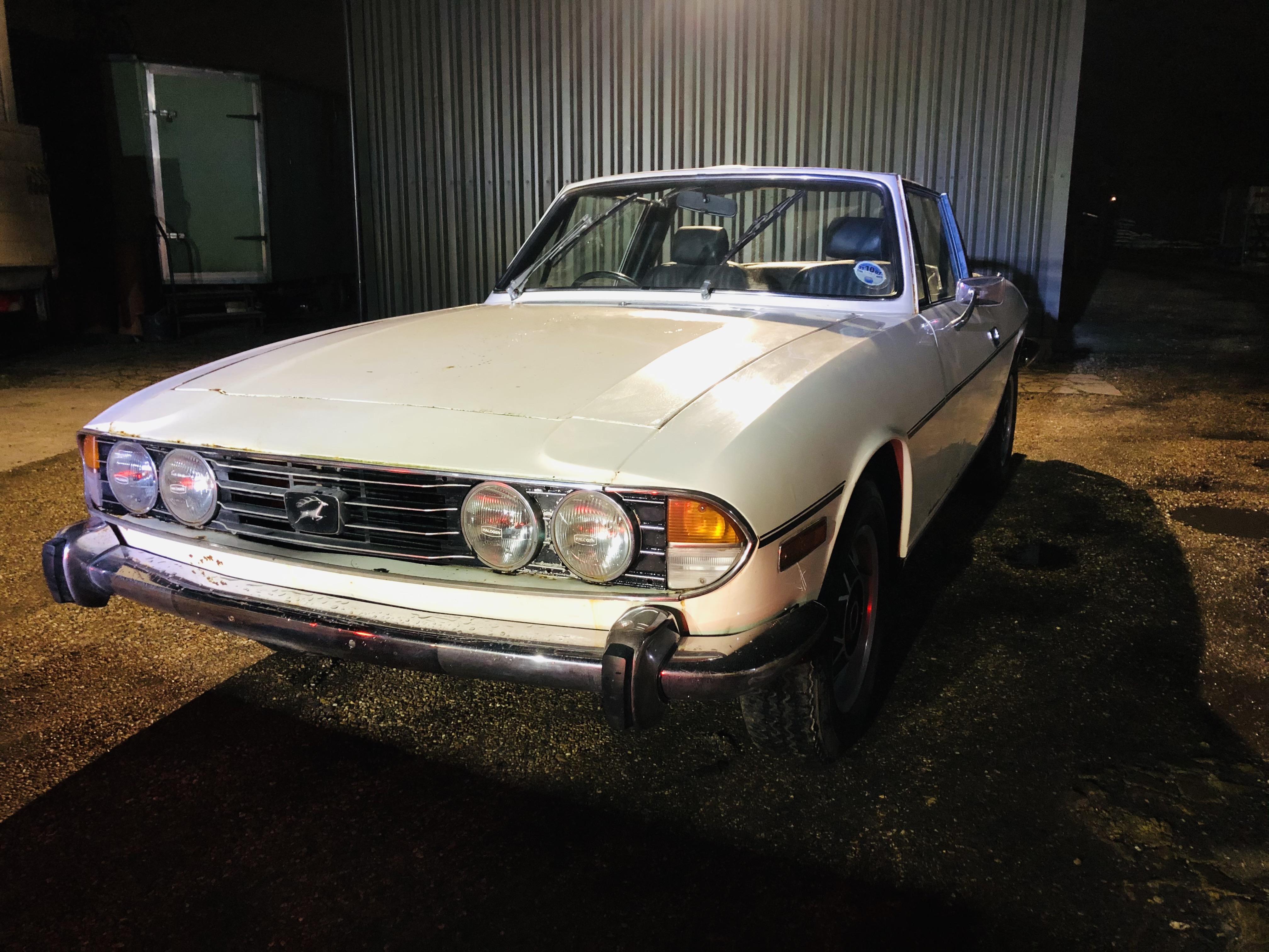 Triumph Stag V8 project