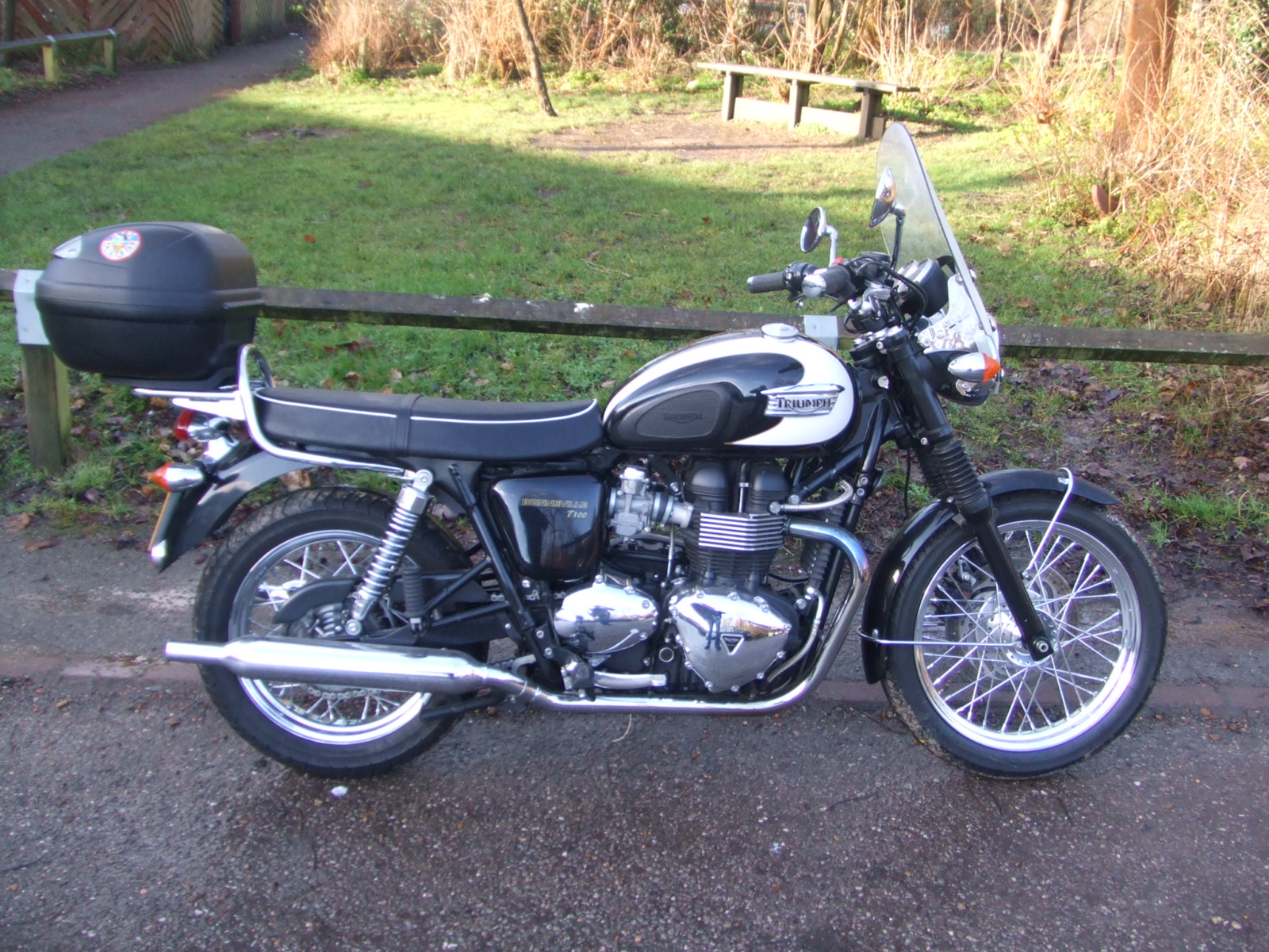 Triumph T100 Bonneville in VGC. New MoT, FSH.
