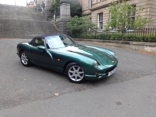 1997 P TVR Chimaera 4.0 400 Manual For Sale (picture 3 of 6)