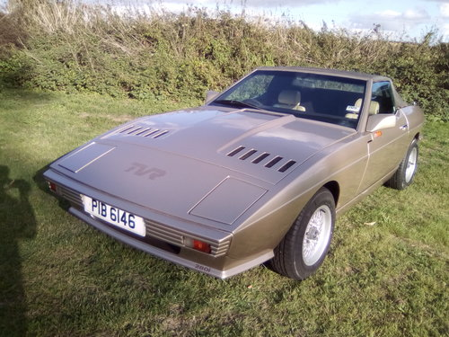 1986 TVR Tasmin 280i Auto rare Classic SOLD (picture 1 of 6)