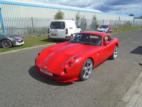 2001 TVR TUSCAN 4LTR SPEED 6 TVR POWER ENGINE REBUILD For Sale (picture 1 of 6)