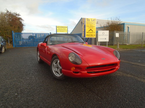 1998 TVR CHIMAERA 4LTR V8 SALVAGE EASY EASY FIX For Sale (picture 1 of 6)