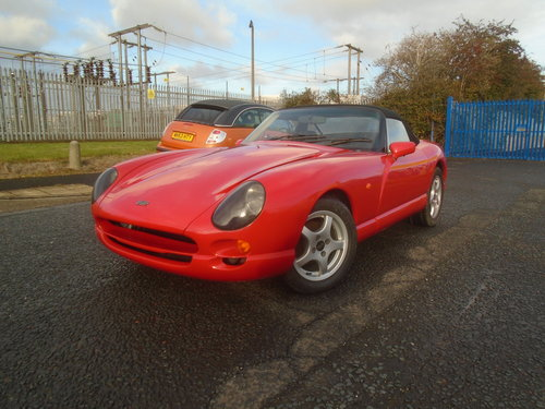 1998 TVR CHIMAERA 4LTR V8 SALVAGE EASY EASY FIX For Sale (picture 2 of 6)