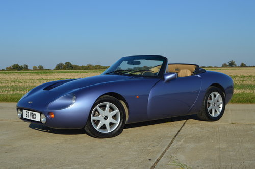 1993 TVR Griffith 500 - Secret Blue - Stunning Example - Low Mile For Sale (picture 1 of 6)