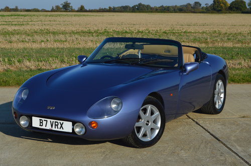 1993 TVR Griffith 500 - Secret Blue - Stunning Example - Low Mile For Sale (picture 5 of 6)