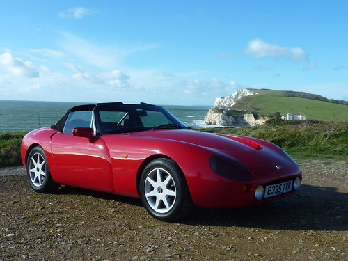 TVR Griffith 500 – 1995 – Formula Red - VGC For Sale (picture 1 of 6)