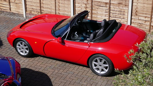TVR Griffith 500 – 1995 – Formula Red - VGC For Sale (picture 4 of 6)