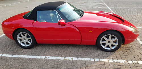 TVR Griffith 500 – 1995 – Formula Red - VGC For Sale (picture 5 of 6)