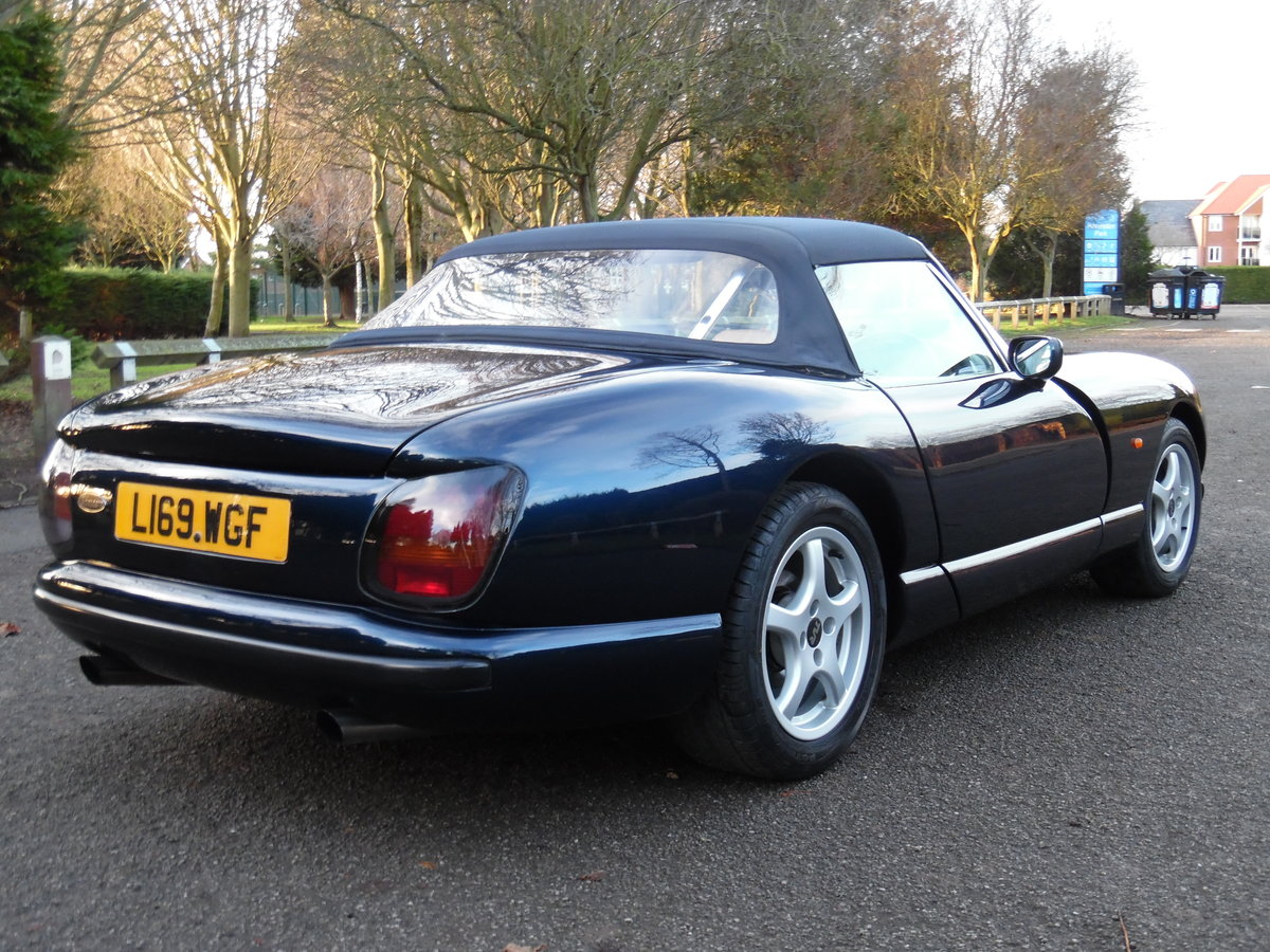 1993 TVR Chimaera 4.3 V8 Convertible 54,000 Miles, F/S/H For Sale (picture 2 of 6)