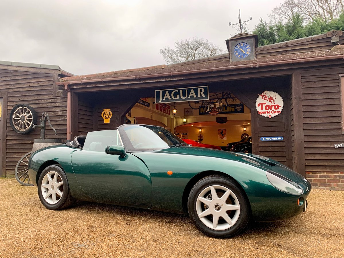 1996 TVR GRIFFITH 500 SOLD (picture 1 of 6)