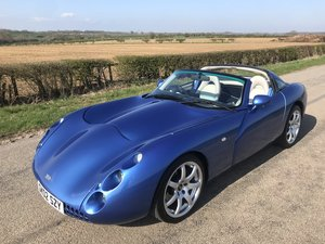 Estoril Blue, 2002 Model Year Tuscan 4000cc SOLD