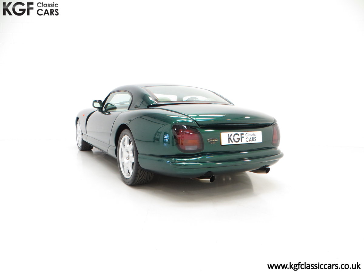 1998 The Ultimate TVR Cerbera 4.5 AJP 420bhp Version For Sale (picture 4 of 6)