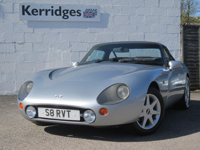 1999 (S) TVR Griffith 500 in Arctic Silver For Sale (picture 1 of 6)