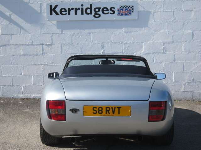 1999 (S) TVR Griffith 500 in Arctic Silver For Sale (picture 6 of 6)