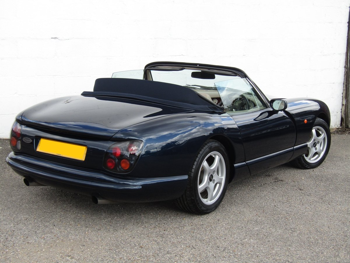 1999 (T) TVR Chimaera 4.0 in Starmist Blue For Sale (picture 2 of 6)