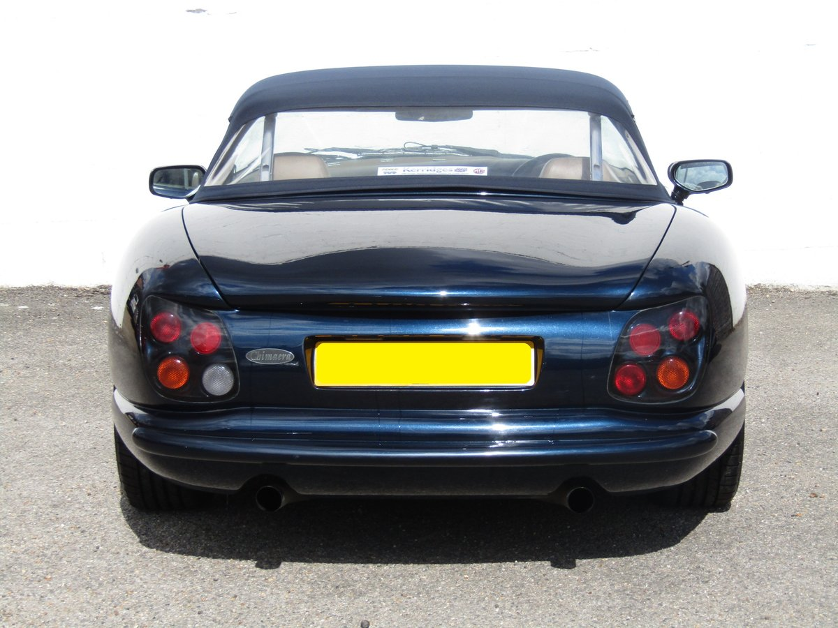 1999 (T) TVR Chimaera 4.0 in Starmist Blue For Sale (picture 6 of 6)