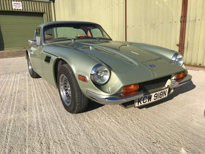 1975 TVR 2500M Coupe with detailed restoration history. VGC